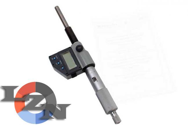 Головка микрометрическая ГМЦ-50-0,01 - фото №3