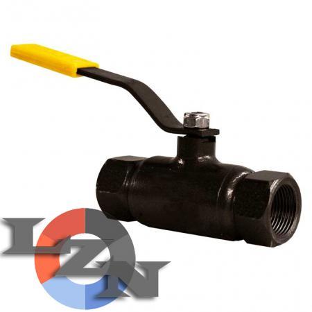 Кран шаровый стальной муфтовый LD полнопроходной - фото