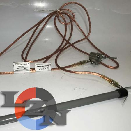 ШСП-К штанга для снятия потенциала (110-500 кВ) - фото №2